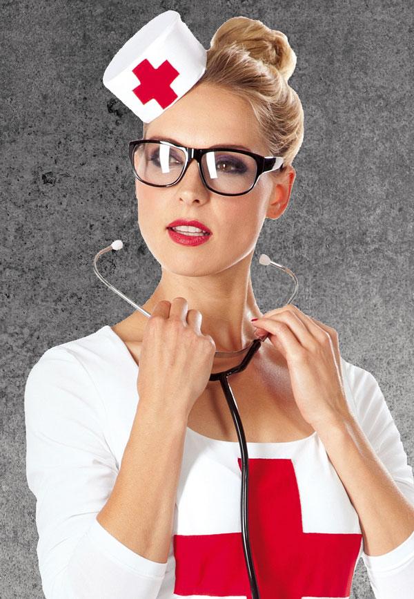 Pillbox Statt Pille Krankenschwester Hutchen Nahen