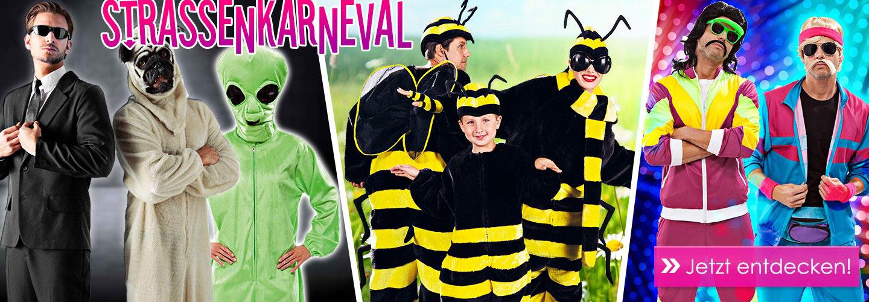 slider Straßenfasching Kostüme