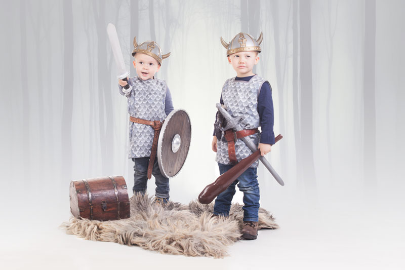 Nahanleitung Wikinger Hemd Fur Kinder