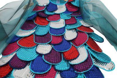 Nahanleitung Faschingskostum Regenbogenfisch