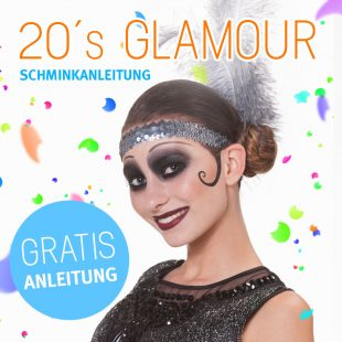 Schmink Tipp 20s Glam Make Up