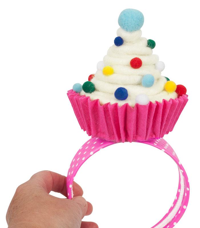 kost mtipp cupcake fascinator selber machen buttinette faschingsblog. Black Bedroom Furniture Sets. Home Design Ideas