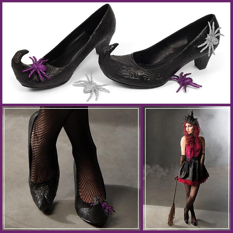 Kostumtipp Hexenschuhe Selbermachen Buttinette Faschingsblog