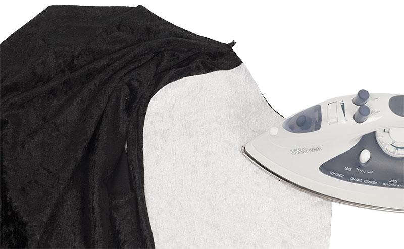 Pinguin Kostüm nähen - bügeln