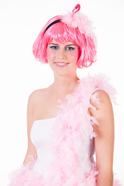 Schminkanleitung Flamingo Schmuckbild