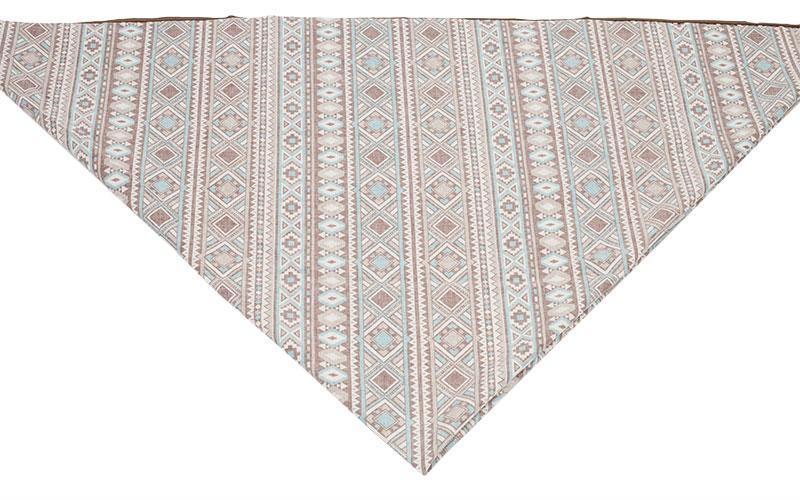 Indianer Kostüm - Poncho nähen - zum Dreieck falten