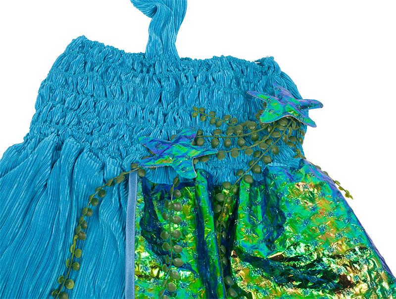 Nähanleitung: Meerjungfrauen-Kostüm nähen - buttinette Faschingsblog