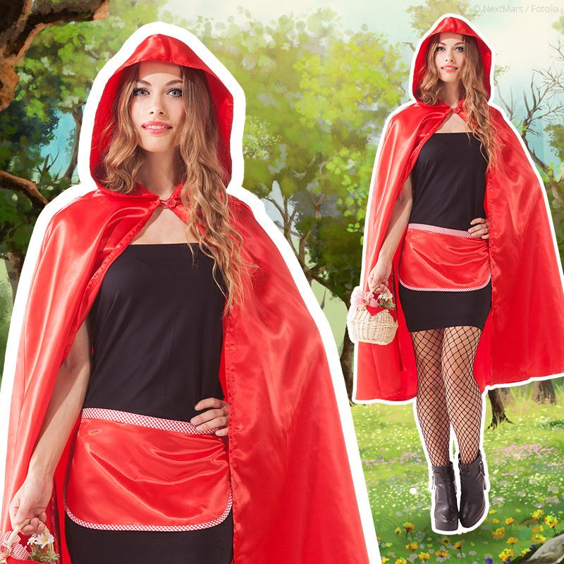 Rotkäppchen Kostüm - Schürze nähen