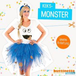 Kostüm Keksmonster