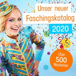 buttinette Faschingskatalog 2020