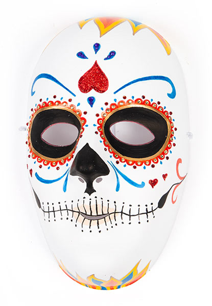 Masken selber bemalen - Beispiel 2