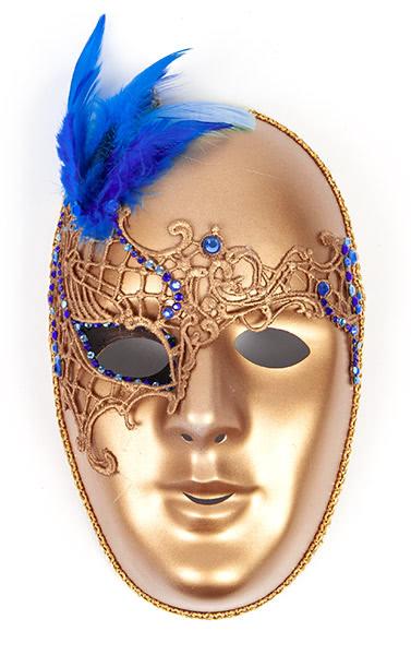 Masken selber bemalen - Beispiel 1