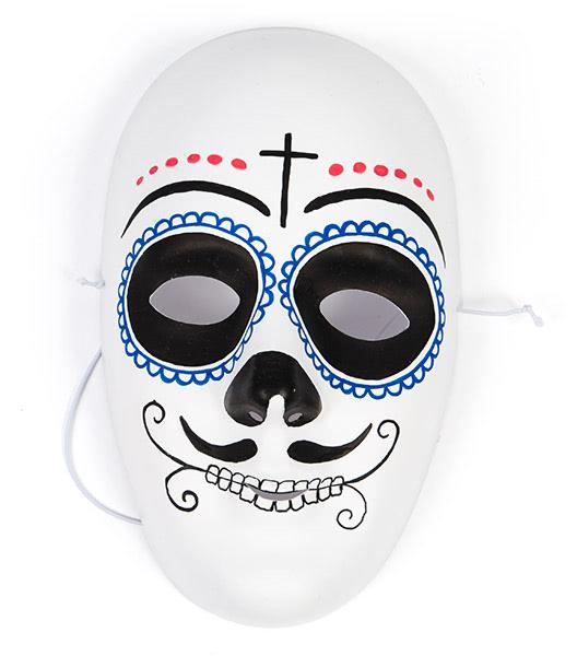 Masken selber bemalen - Beispiel 3