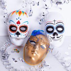 Masken selber bemalen